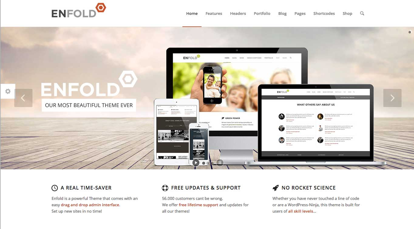 Enfold - WordPress teema