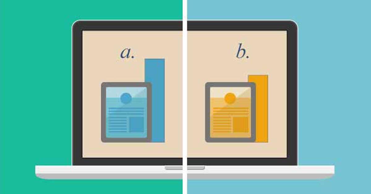 AB-testaus on prosessi jossa testataan kuinka erilaiset muutokset vaikuttavat sivuston konversioon.