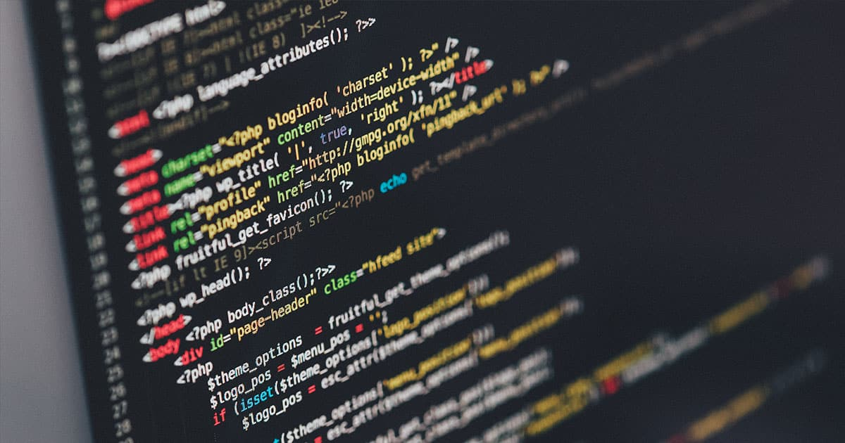 This is what basic wordpress code looks like